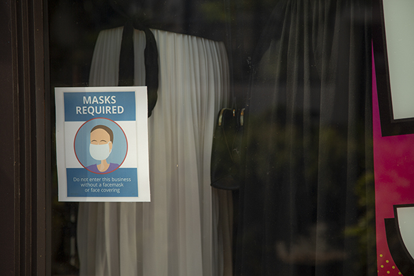 State mask rules are in flux, part of the California reopening confusion.