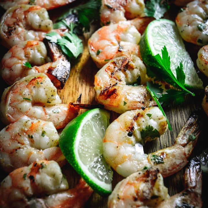 Honey Lime Grilled Shrimp with Pineapple