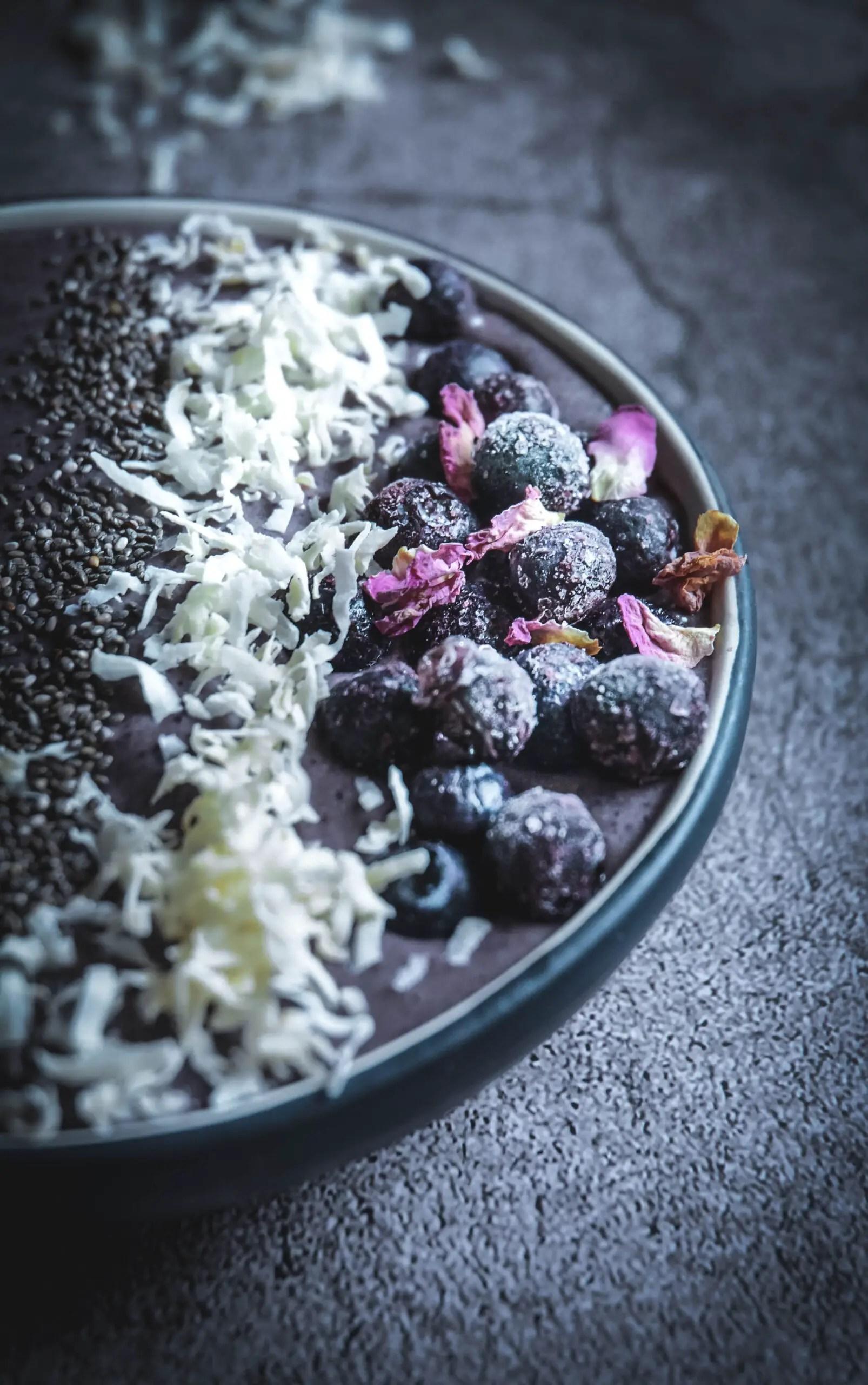 Nutrient Dense Blueberry Smoothie