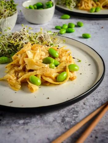 Paleo Peanut Noodles