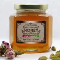Rose Cardamom Infused Honey