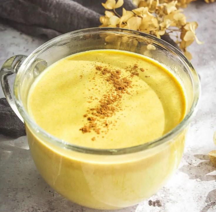 Pumpkin Spice Moon Milk Latte