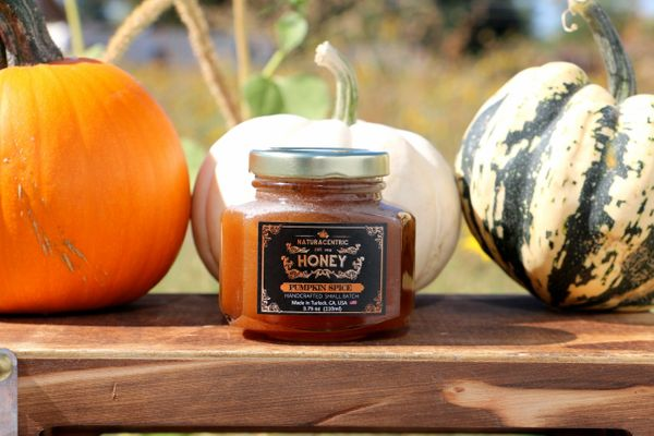 Pumpkin Spice Infused Local Raw Honey