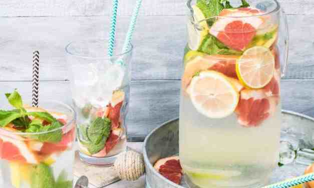 5 infused waters for a happy summer