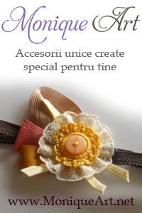 MoniqueArt - Accesorii handmade. Accesorii unicat lucrate manual.