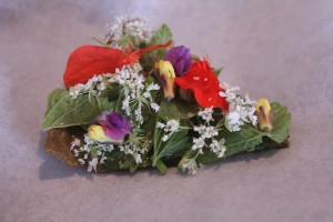 Image of an over-garnished food so you can't see what it is! from CALMERme.com