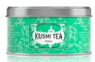 Image shows a tin of Kusmi tea, as described in this post on CALMERme.com