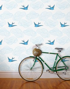 Image depicting Hygge wallpaper design from CALMERme.com