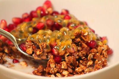 Image of homemade marmalade granola from CALMERme.com
