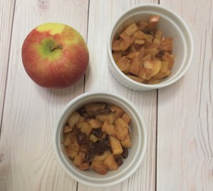 Image of stewed apples for immunity and inflammation from CALMERme.com