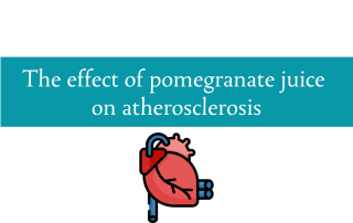 Blogheader on pomegranate juice for cardiovascular health