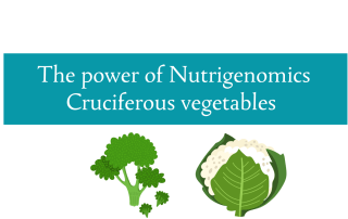 The power of nutrigenomics from cruciferous vegetables from CALMERme.com
