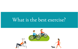 Blogheader about what is the best exercise from CALMERme.com
