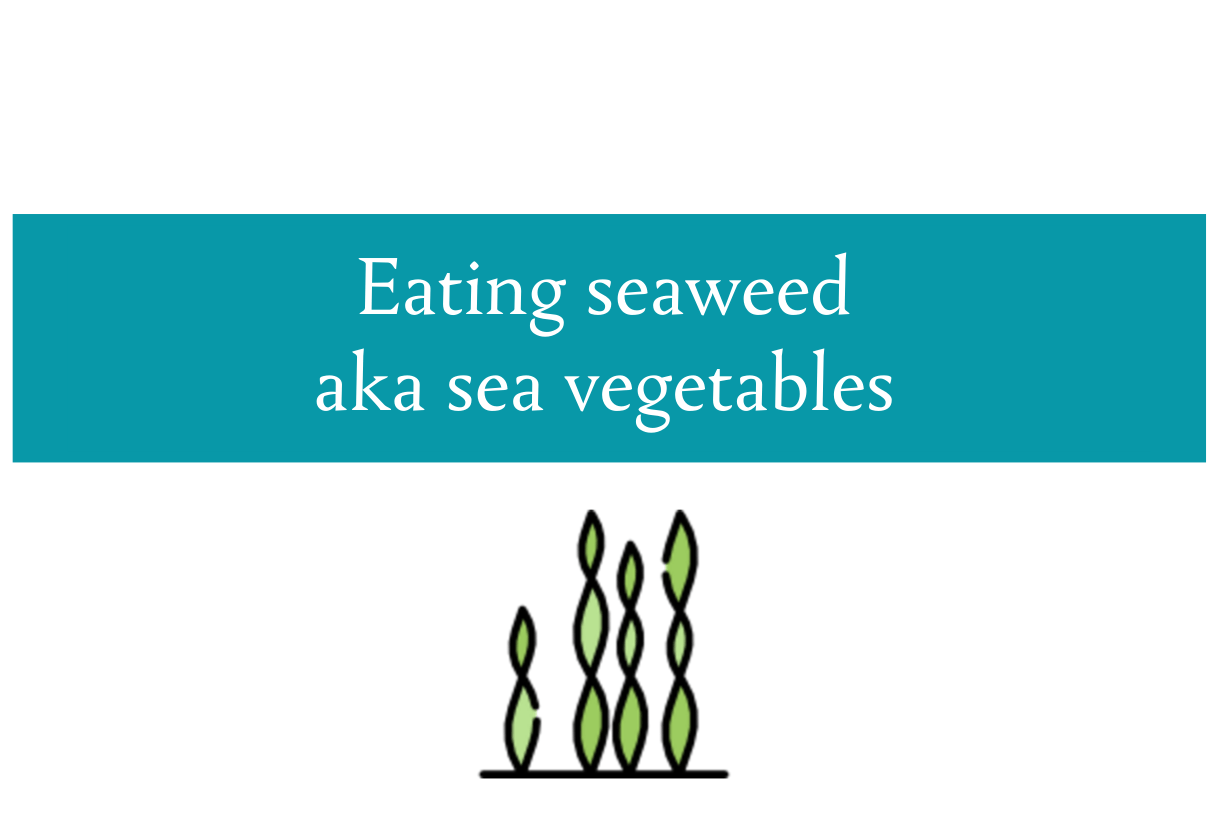 Blog post about why we should be eating seaweed from CALMERme.com