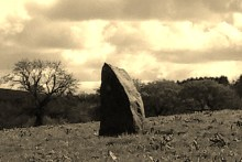Another menhir by Temple Druid
