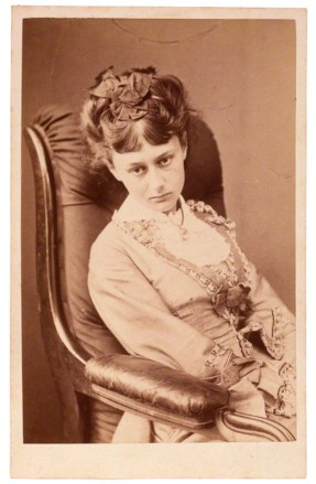 Alice Liddell aged 18 by Charles Lutwidge Dodgson: National Portrait Gallery NPG P991(11) carte-de-visite, 25 June 1870