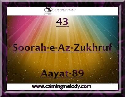 43-Soorah-e-Az-Zukhruf-Aayat-89