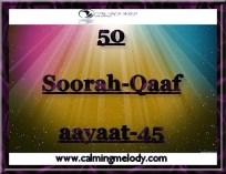 50-Soorah-Qaaf-aayaat-45