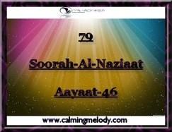 79-Soorah-Al-Naziaat-Aayaat-46