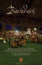 Baradari Restaurant at Serena Hotel