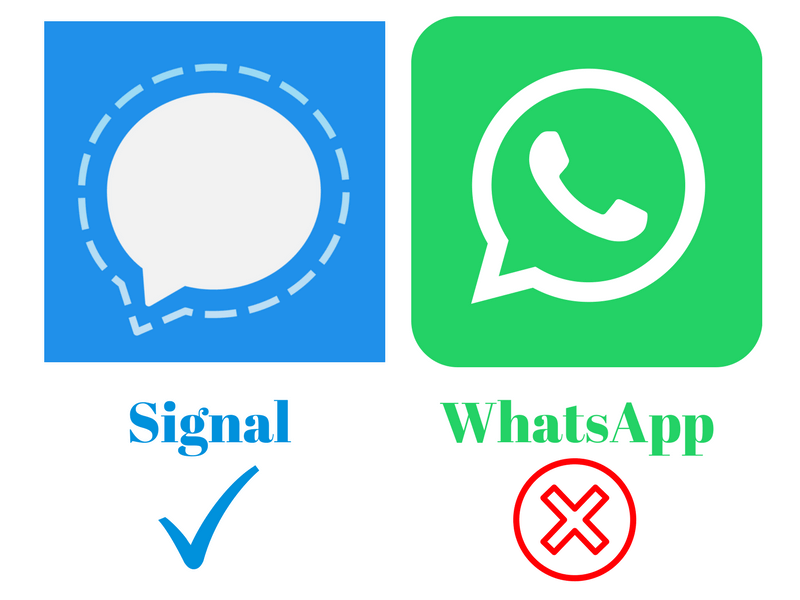 Signal Private Messaging App is Much Better Than Facebook WhatsApp - Minute Crunch