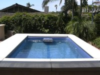 Tropicana Small Fiberglass Inground Viking Swimming Pool