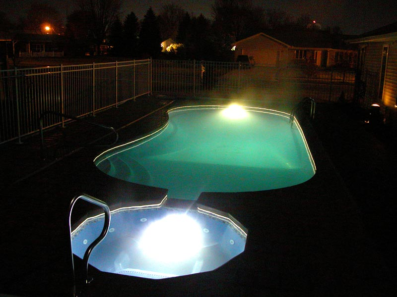Viking Fiberglass Inground Swimming Pool Lighting