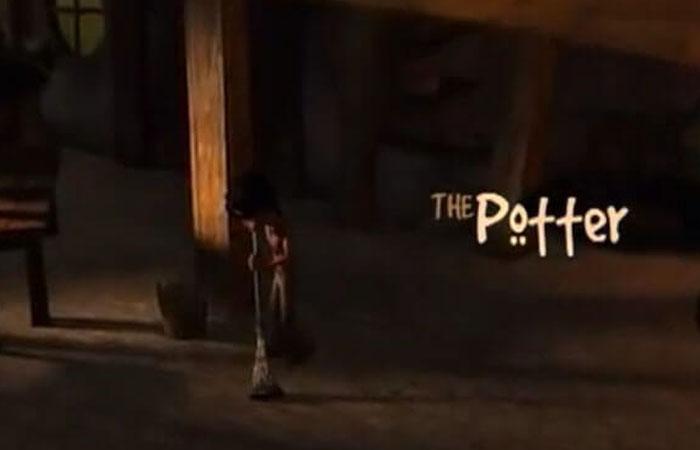 """Captura del video """"The Potter"""""""