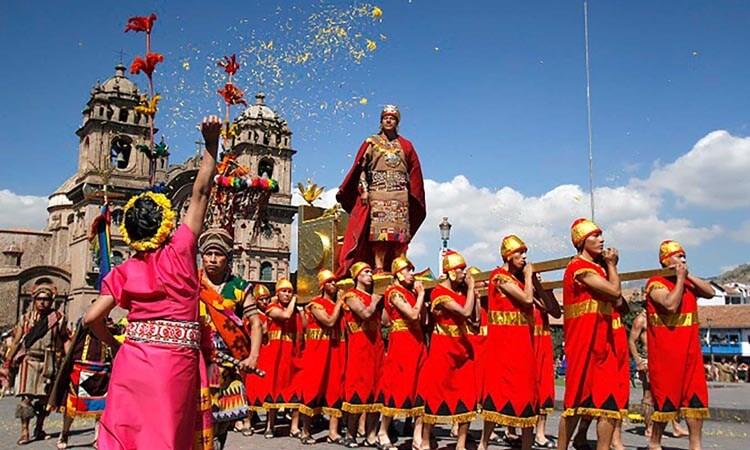 Festejo de la Fiesta del Sol o Inti Raymi
