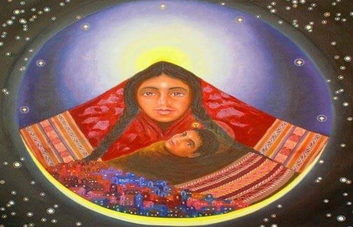 Imagen de la Pachamama o Madre Tierra