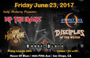 Kelly McGarry Presents @ House of Blues San Diego | San Diego | CA | United States