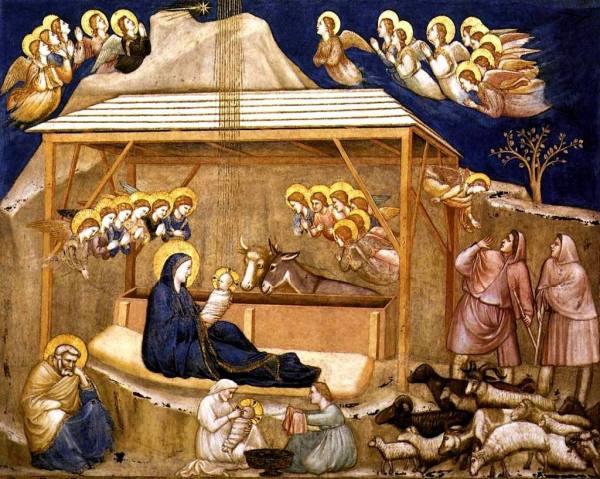Giotto Nativity Painting