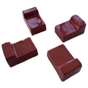 Ceramic Support Cradle - Red