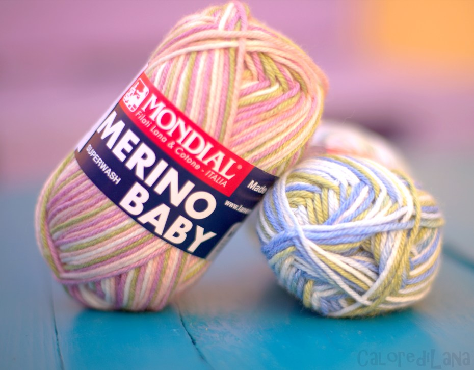 Merino baby Mondial - Calore di Lana