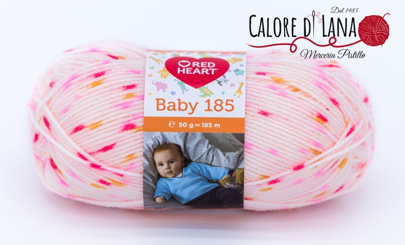 Baby 185 Red Heart - Calore di Lana www.caloredilana.com