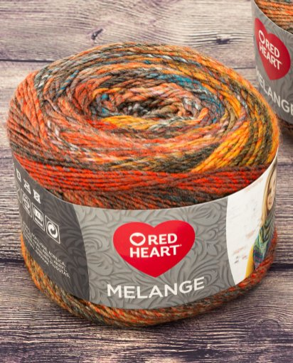 Melange Red Heart - Calore di Lana www.caloredilana.com