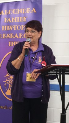 Valerie Thornton, President, welcomes you to our Caloundra Family Historynew website