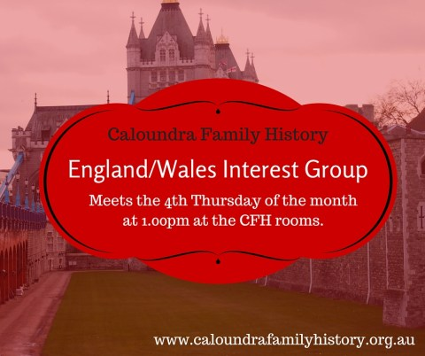 England & Wales Interest Group