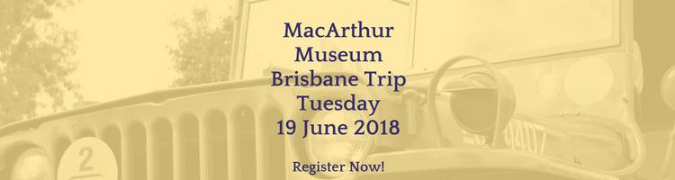 MacArthur Museum Trip