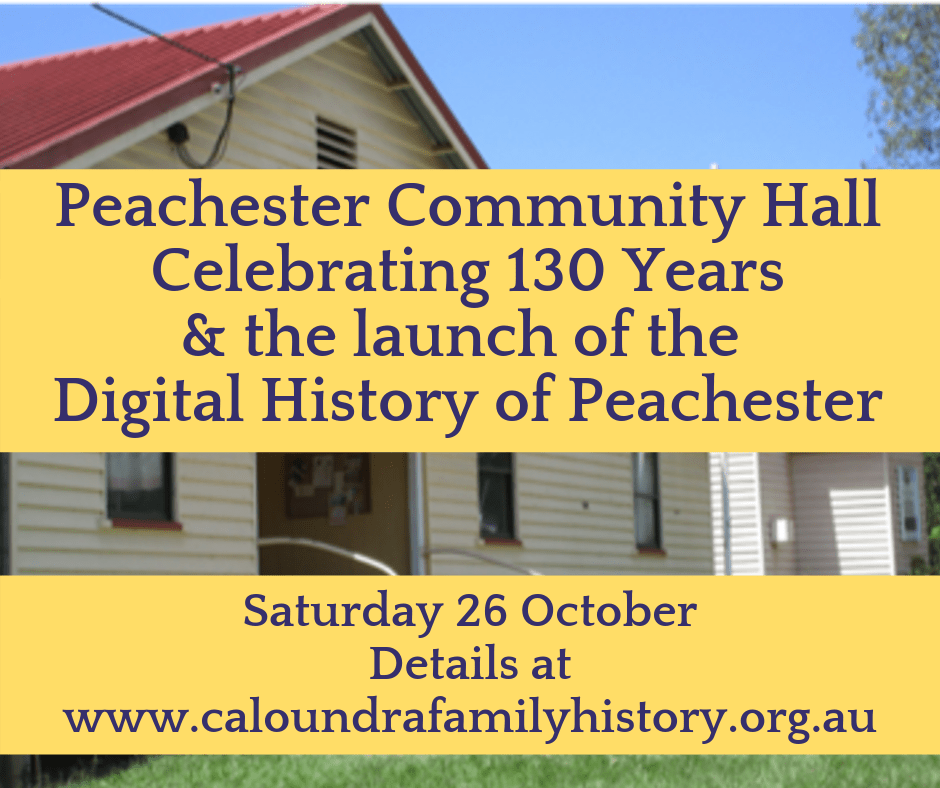 Peachester Community Hall 130 Celebrating 130 Years