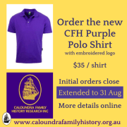 CFH Women's & Men's Polo Shirts