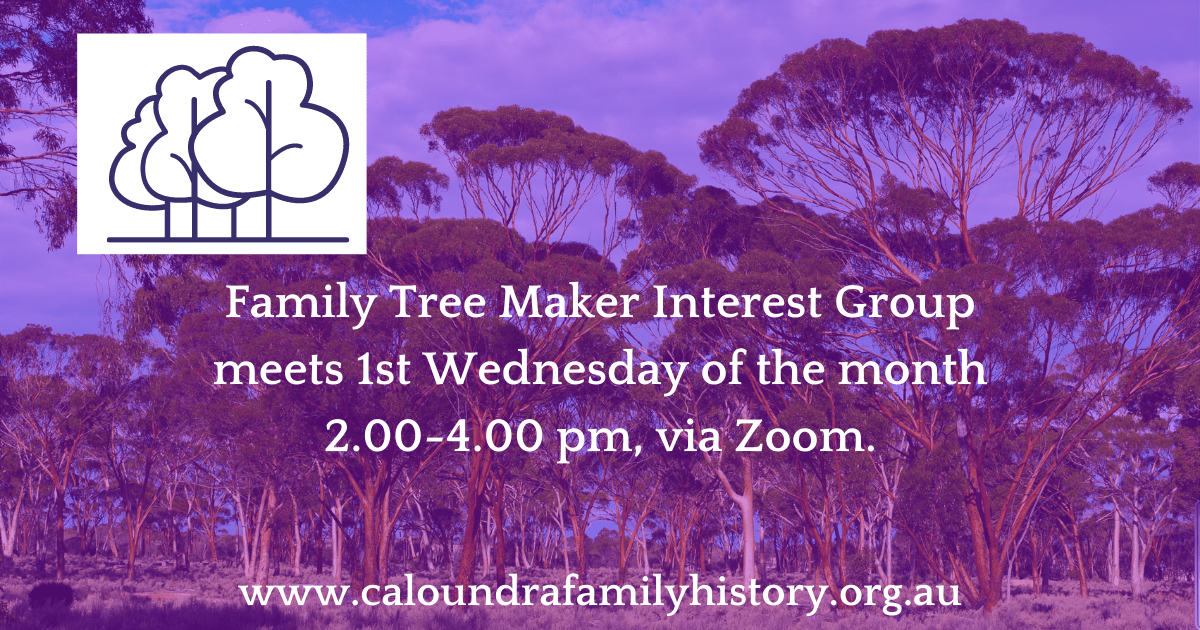 Family Tree Maker Interest Group