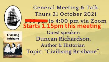 Duncan Richardson, Civilising Brisbane