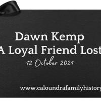 Dawn Kemp – A Loyal Friend Lost