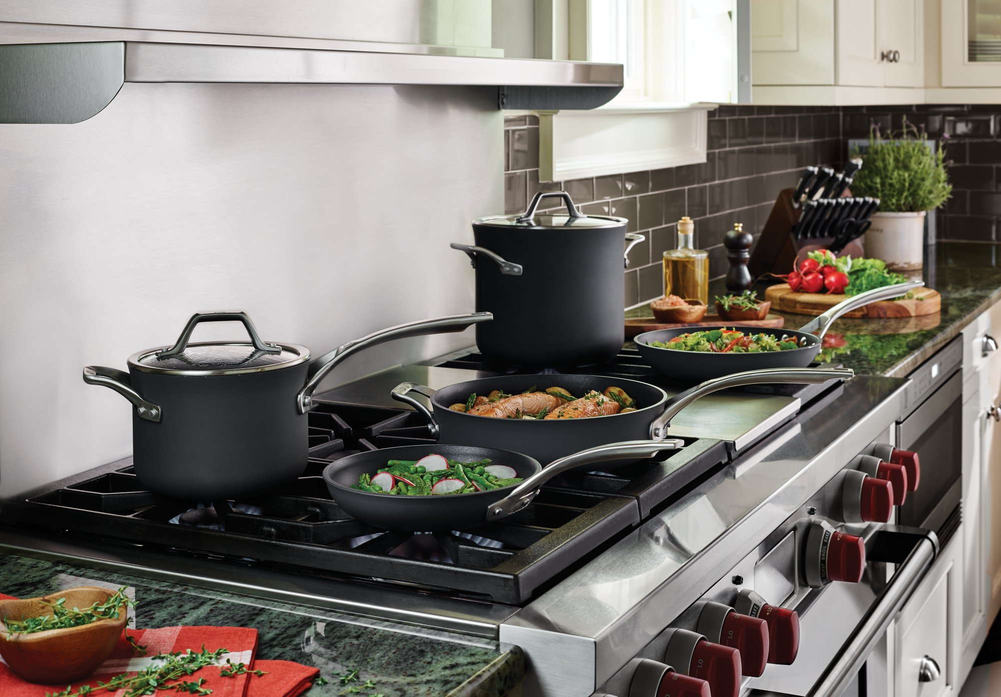 kitchen essentials by calphalon home remodeling cookware cutlery bakeware kitchenware and more