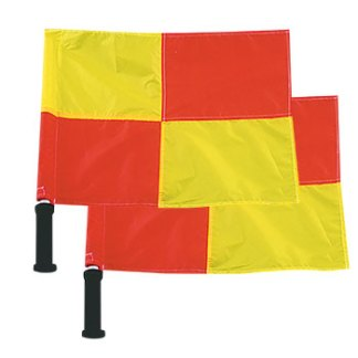 OFFICIAL'S DELUXE LINESMAN FLAGS (SET OF 2)