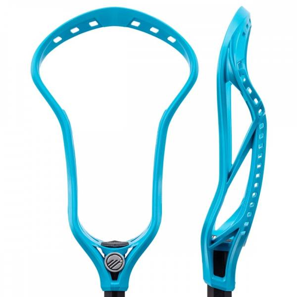 New for 2018, the Maverik Kinetik Unstrung Lacrosse Head is designed for velocity and accuracy, and is perfect for when the game is on the line. Tension Lock in the new Kinetik enables the stringer to precisely locate a defined shooting channel to improve accuracy and consistency. Alongside the Optimal Release Point, the Kinetik increases control and adds hold, helping provide maximum energy transfer when shooting, boosting shot speed. The Kinetik is also built to last with Duratough material and X-Rail technology, designed to increase stiffness and provide consistency in all conditions, all while distributing stress along the sidewalls to keep the head balanced and stiff. Built with a Level 4 Bottom Rail designed for a mid-high pocket, the Kinetik grants added power and a consistent hold. However, multiple stringing holes allow for custom pocket options to truly adjust your gear to fit your game. If you're a power player who isn't afraid to take the outside shot, the Maverik Kinetik Unstrung Lacrosse Head is the one for you.