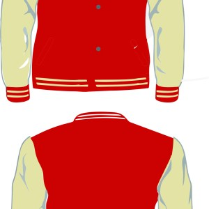 TORRANCE LETTERMAN NATURAL-RED