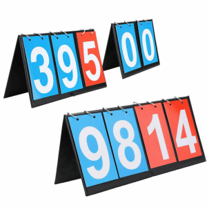 Portable 2/3/4 Digit Scoreboard