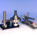AMETEK T Hydraulic Comparator Pump with deadweight tester